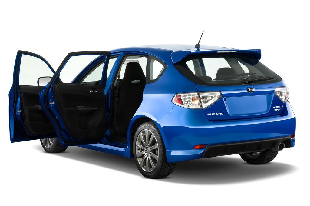 Subaru Impreza WRX STI Kombi (2000 - 2007) 5 Türen Tür geöffnet