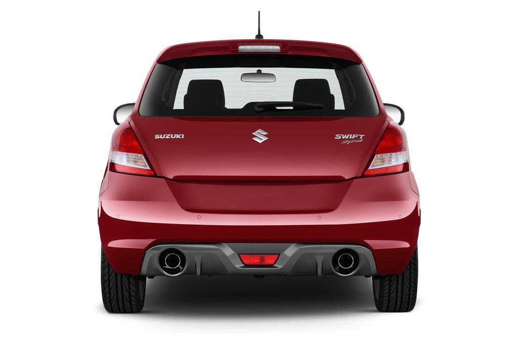 Suzuki Swift Sport Kleinwagen (2005 - 2011) 3 Türen Heckansicht