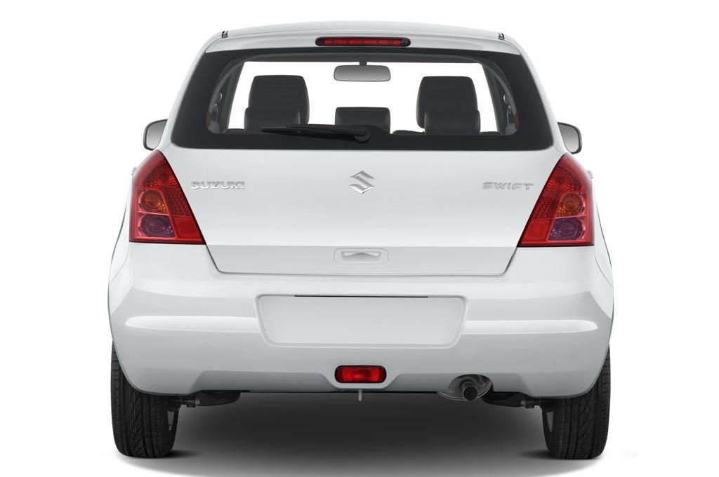 Suzuki Swift Comfort Kleinwagen (2005 - 2011) 5 Türen Heckansicht