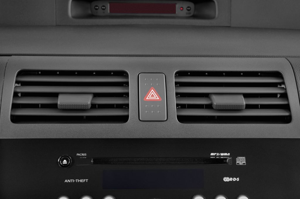 Suzuki Swift Comfort Kleinwagen (2005 - 2011) 5 Türen Lüftung