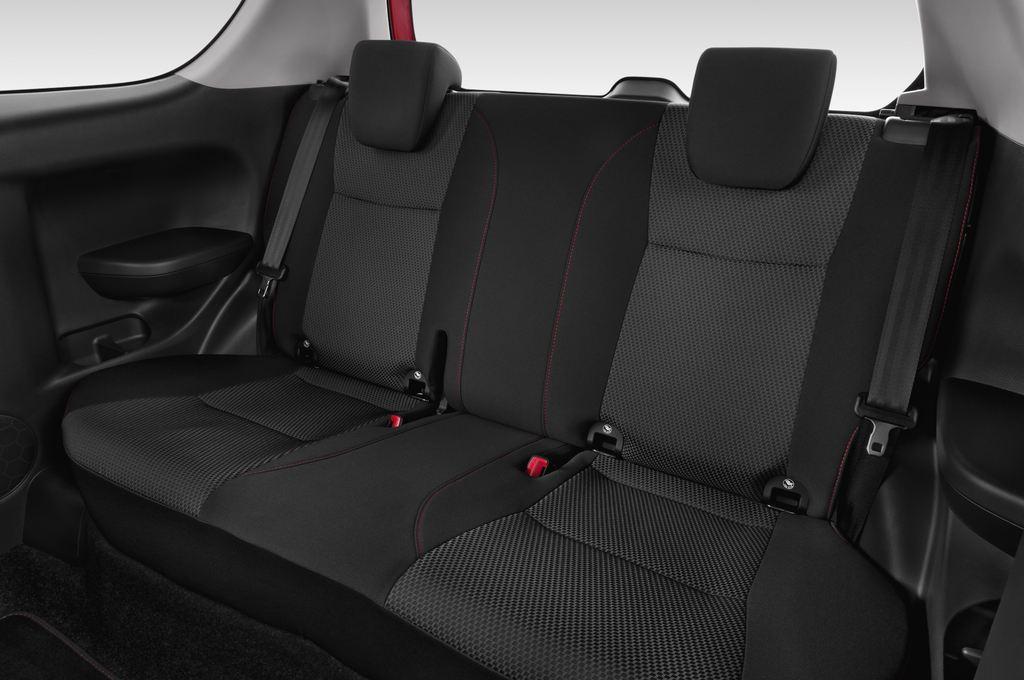 Suzuki Swift Sport Kleinwagen (2005 - 2011) 3 Türen Rücksitze