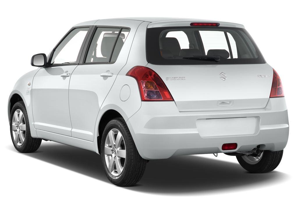 Suzuki Swift Comfort Kleinwagen (2005 - 2011) 5 Türen seitlich hinten