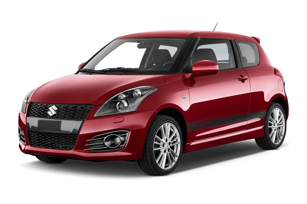 Suzuki Swift Sport Kleinwagen (2005 - 2011) 3 Türen seitlich vorne