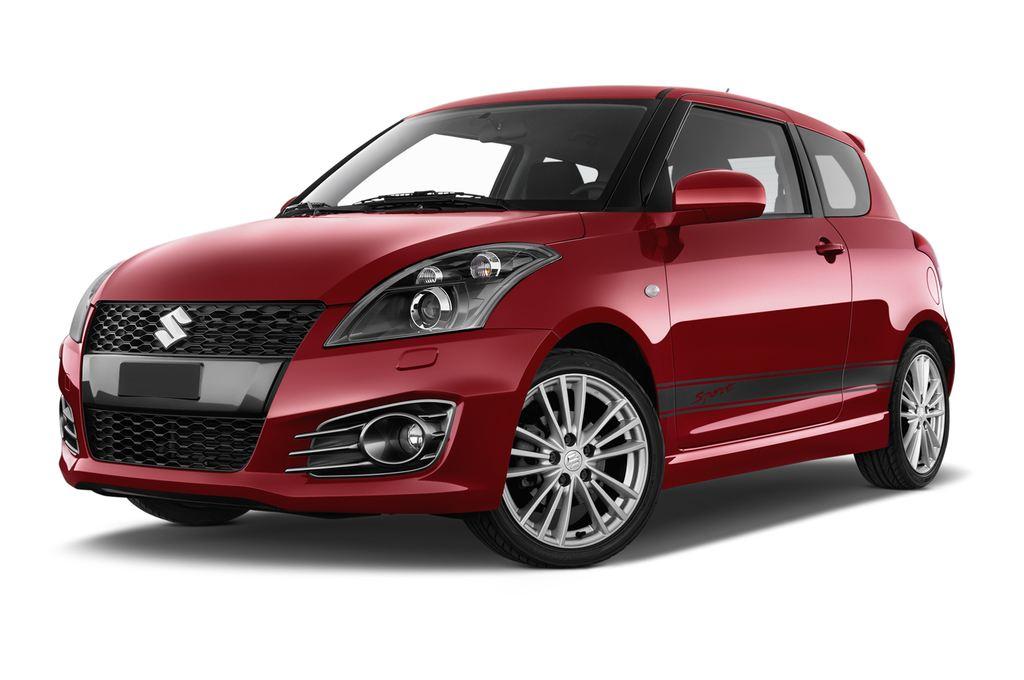 Suzuki Swift Sport Kleinwagen (2005 - 2011) 3 Türen seitlich vorne mit Felge