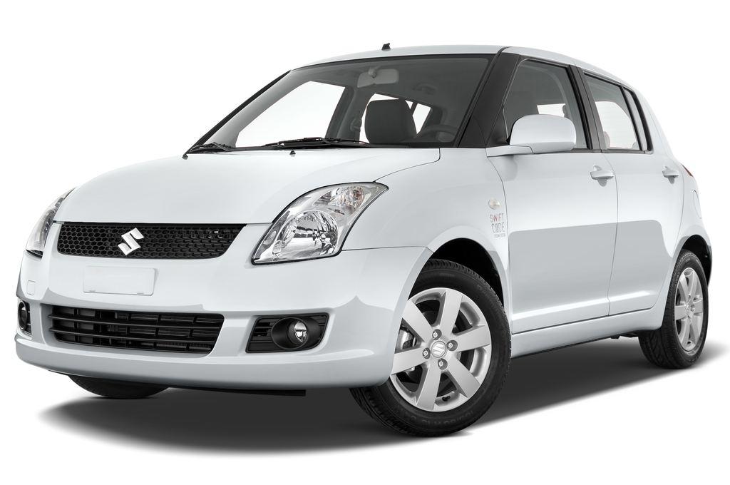 Suzuki Swift Comfort Kleinwagen (2005 - 2011) 5 Türen seitlich vorne mit Felge