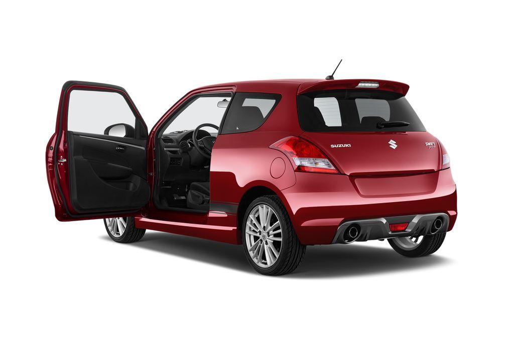 Suzuki Swift Sport Kleinwagen (2005 - 2011) 3 Türen Tür geöffnet