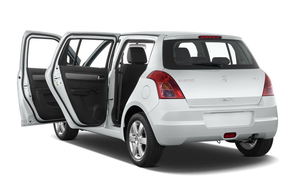 Suzuki Swift Comfort Kleinwagen (2005 - 2011) 5 Türen Tür geöffnet