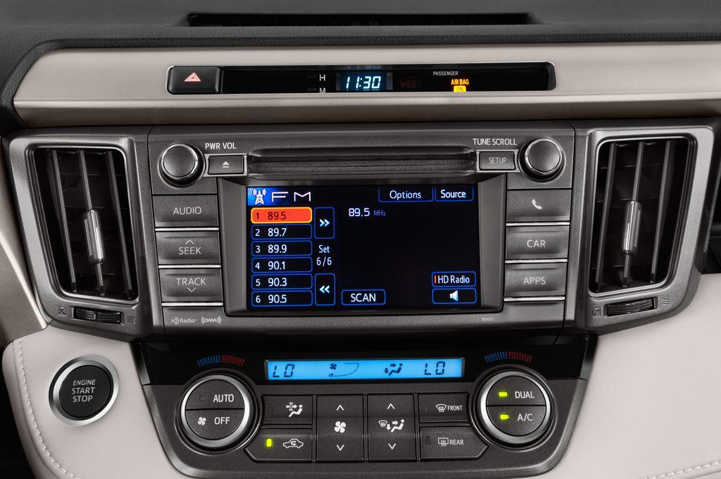 Toyota RAV 4 START-Edition SUV (2013 - heute) 5 Türen Radio und Infotainmentsystem