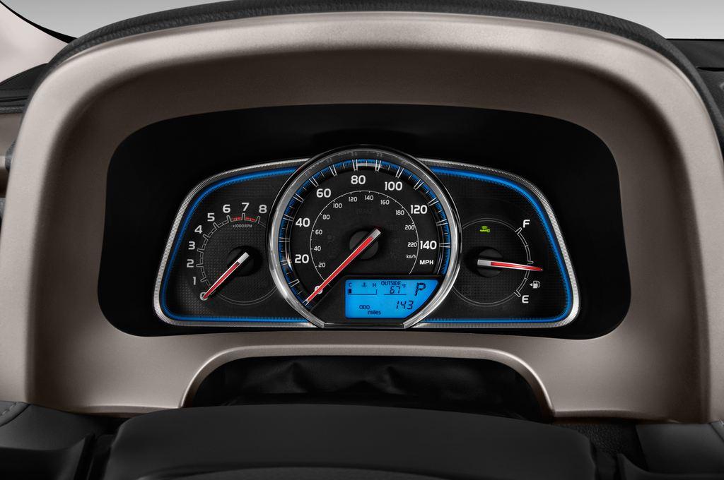 Toyota RAV 4 START-Edition SUV (2013 - heute) 5 Türen Tacho und Fahrerinstrumente