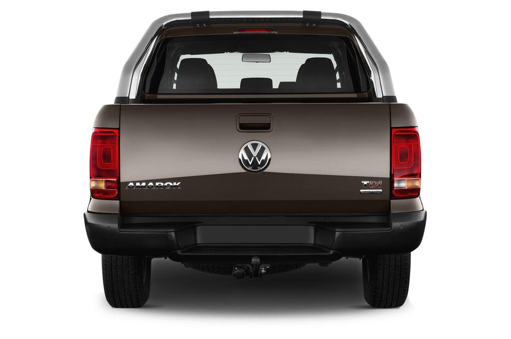 VW Amarok Trendline Pritsche (2010 - heute) 4 Türen Heckansicht