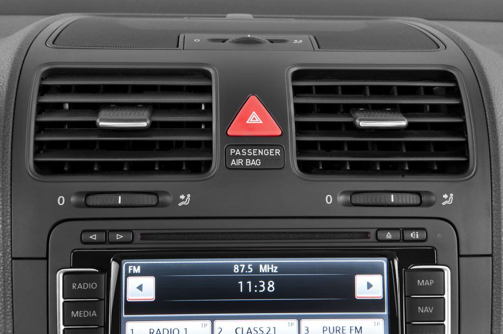 VW Golf - Kombi (2007 - 2009) 5 Türen Lüftung