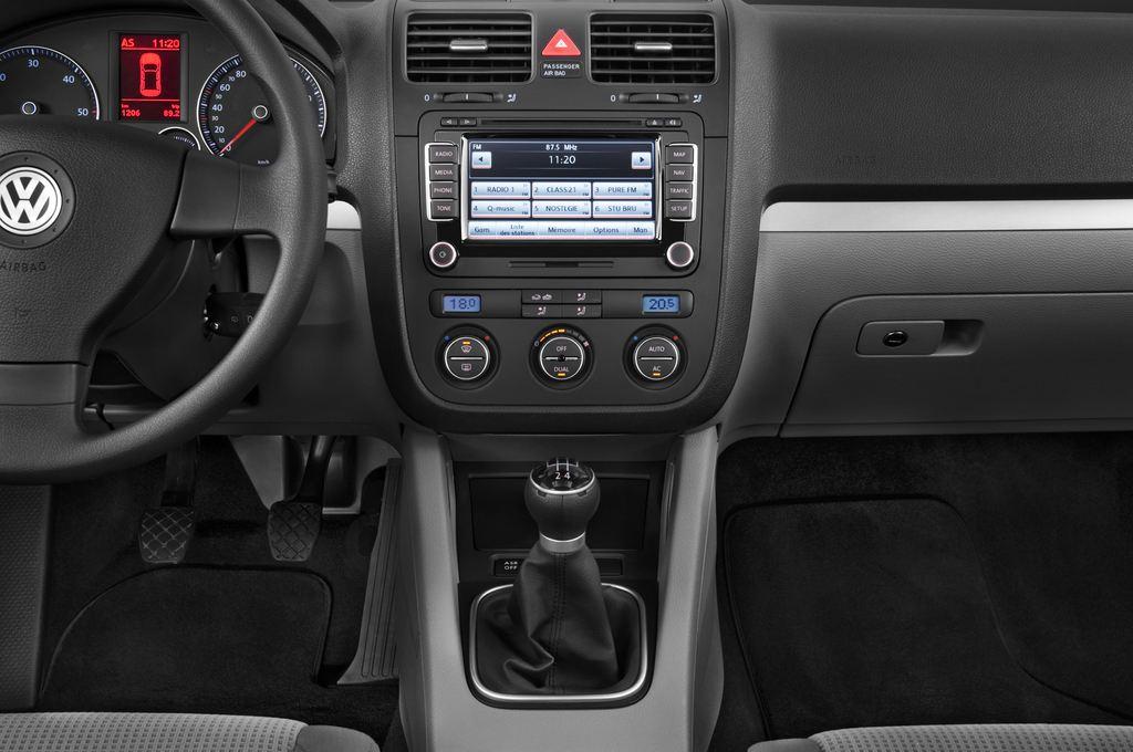 VW Golf - Kombi (2007 - 2009) 5 Türen Mittelkonsole
