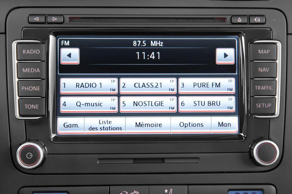 VW Golf - Kombi (2007 - 2009) 5 Türen Radio und Infotainmentsystem