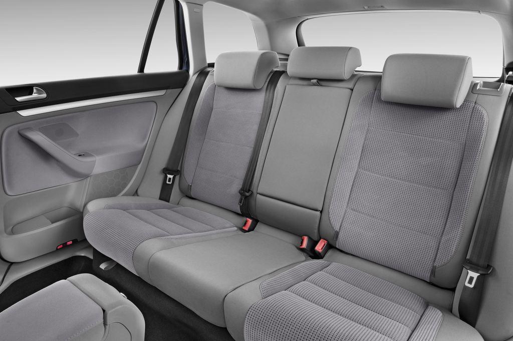 VW Golf - Kombi (2007 - 2009) 5 Türen Rücksitze
