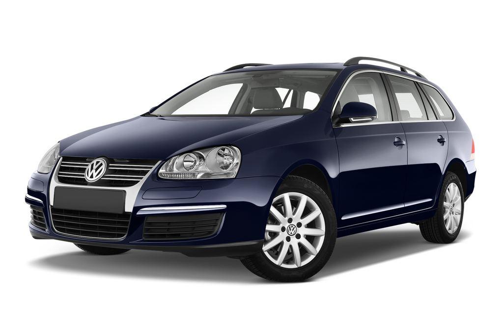 VW Golf - Kombi (2007 - 2009) 5 Türen seitlich vorne mit Felge