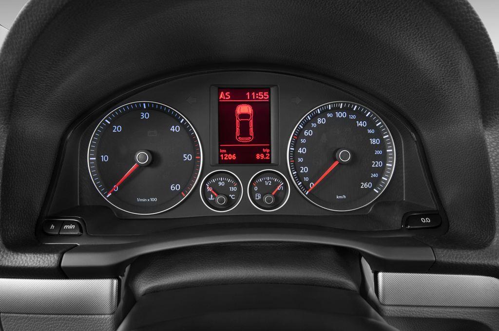 VW Golf - Kombi (2007 - 2009) 5 Türen Tacho und Fahrerinstrumente