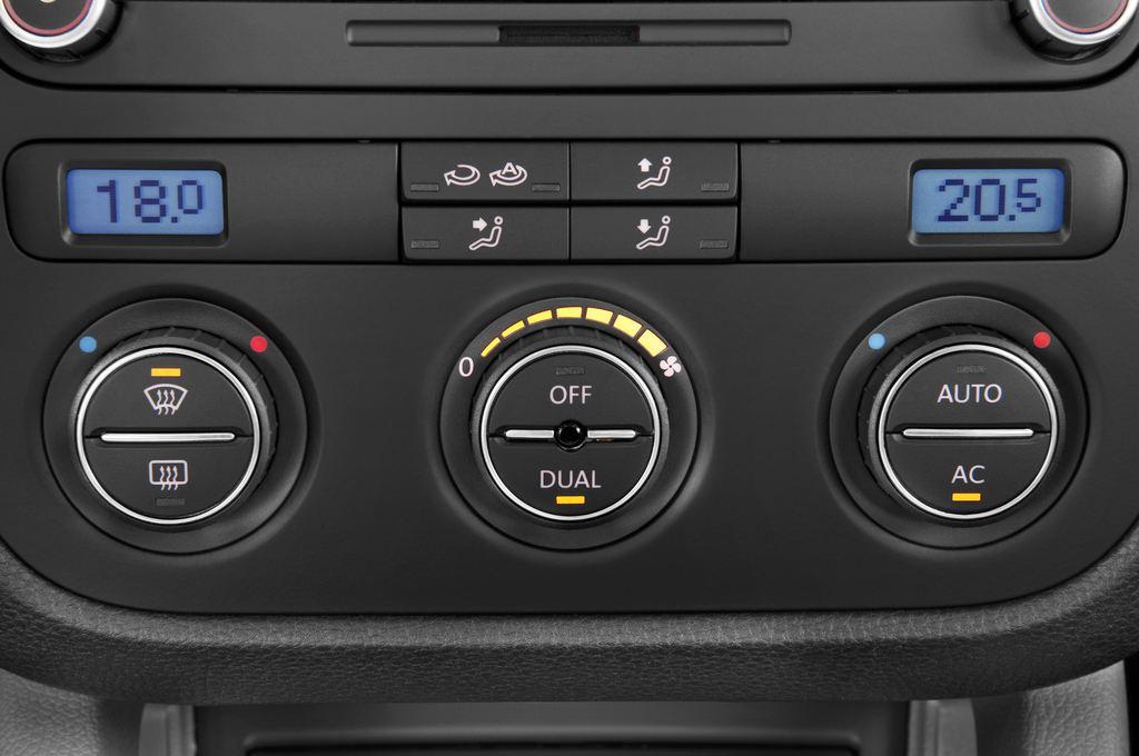 VW Golf - Kombi (2007 - 2009) 5 Türen Temperatur und Klimaanlage