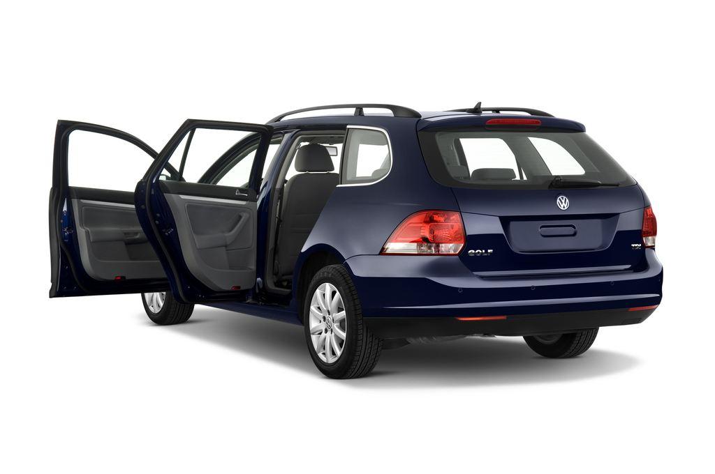 VW Golf - Kombi (2007 - 2009) 5 Türen Tür geöffnet
