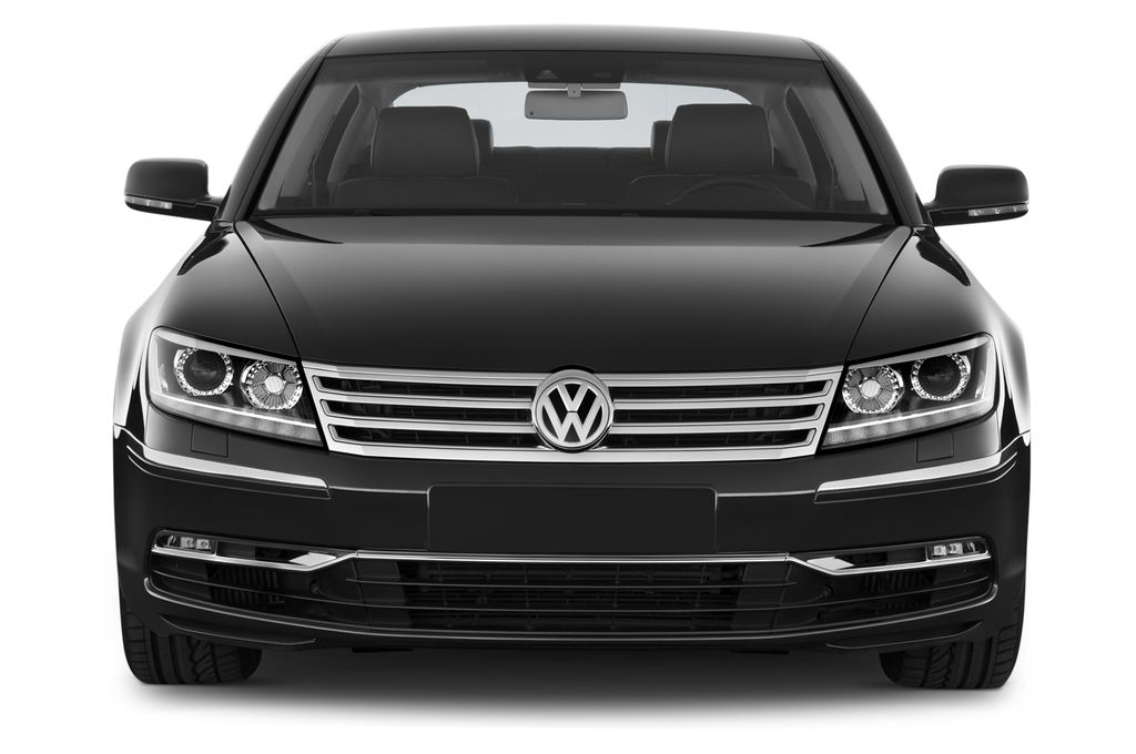 VW Phaeton V6 Limousine (2002 - 2016) 4 Türen Frontansicht