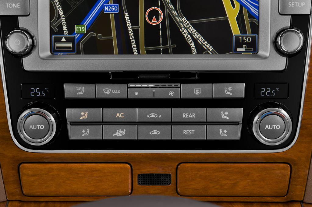 VW Phaeton V6 Limousine (2002 - 2016) 4 Türen Temperatur und Klimaanlage