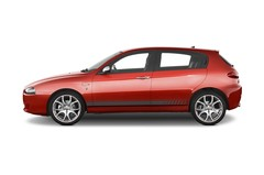 Alfa Romeo 147 - Kompaktklasse (2000 - 2010) 5 Türen Seitenansicht