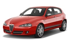 Alfa Romeo 147 - Kompaktklasse (2000 - 2010) 5 Türen seitlich vorne