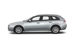Alfa Romeo 159 - Kombi (2005 - 2011) 5 Türen Seitenansicht