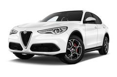 Alfa Romeo Stelvio - SUV (2017 - heute) 5 Türen seitlich vorne mit Felge