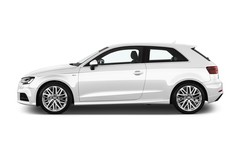 Audi A3 Sport Kompaktklasse (2012 - heute) 3 Türen Seitenansicht