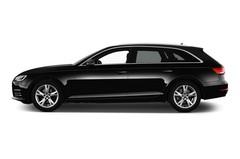 Audi A4 Sport Kombi (2015 - heute) 5 Türen Seitenansicht
