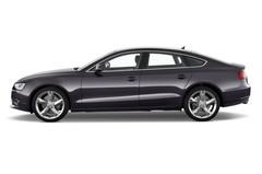 Audi A5 - Sportback (2009 - 2016) 5 Türen Seitenansicht