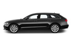 Audi A6 - Kombi (2011 - heute) 5 Türen Seitenansicht