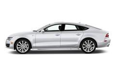 Audi A7 3.0 TFSI Quattro Coupé (2010 - heute) 5 Türen Seitenansicht