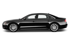 Audi A8 L Limousine (2009 - heute) 4 Türen Seitenansicht