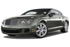 Bentley Continental GT - Coupé (2003 - 2011) 2 Türen seitlich vorne mit Felge