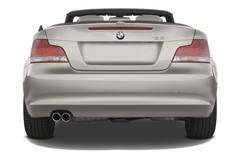 BMW 1er 125i Cabrio (2008 - 2015) 2 Türen Heckansicht