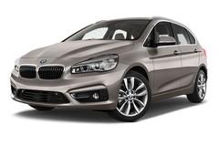 BMW 2er Luxury Line Van (2014 - heute) 5 Türen seitlich vorne mit Felge