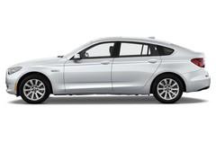 BMW 5er GT 550i GT Limousine (2009 - 2017) 5 Türen Seitenansicht