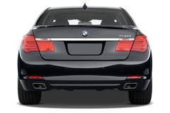 BMW 7er 750i Limousine (2008 - 2015) 4 Türen Heckansicht