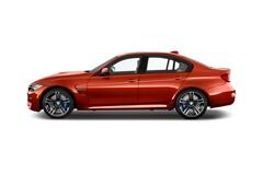 BMW M3 M3 Limousine (2014 - heute) 4 Türen Seitenansicht