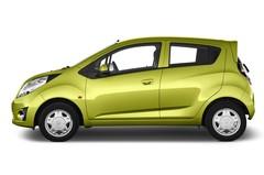 Chevrolet Spark LS Kleinwagen (2010 - heute) 5 Türen Seitenansicht