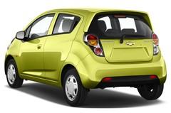 Chevrolet Spark LS Kleinwagen (2010 - heute) 5 Türen seitlich hinten