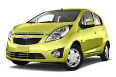 Chevrolet Spark LS Kleinwagen (2010 - heute) 5 Türen seitlich vorne mit Felge