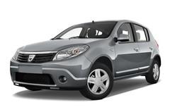 Dacia Sandero Laureate Kleinwagen (2008 - 2012) 5 Türen seitlich vorne mit Felge