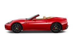Ferrari California - Cabrio (2008 - heute) 2 Türen Seitenansicht