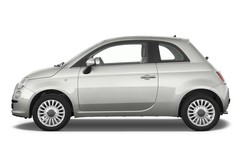 Fiat 500 Lounge Kleinwagen (2007 - heute) 3 Türen Seitenansicht