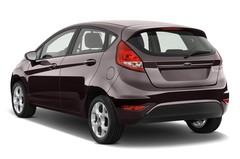 Ford Fiesta Titanium Kleinwagen (2008 - 2017) 5 Türen seitlich hinten