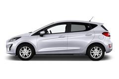 Ford Fiesta Cool & Connect Kleinwagen (2017 - heute) 5 Türen Seitenansicht