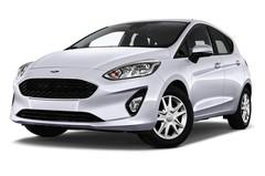 Ford Fiesta Cool & Connect Kleinwagen (2017 - heute) 5 Türen seitlich vorne mit Felge
