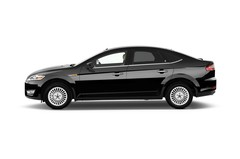 Ford Mondeo Ghia Limousine (2007 - 2014) 5 Türen Seitenansicht